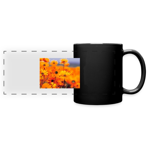 Flower Power - Full Color Panoramic Mug