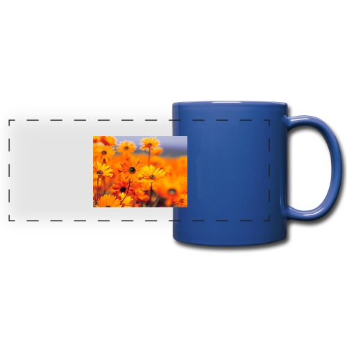 Flower Power - Full Colour Panoramic Mug