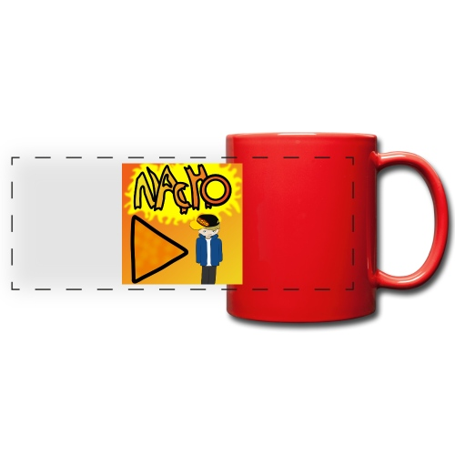 Nacho Title with Little guy - Full Color Panoramic Mug