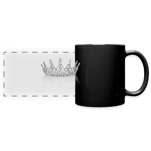 Queen Crown design - Full Colour Panoramic Mug