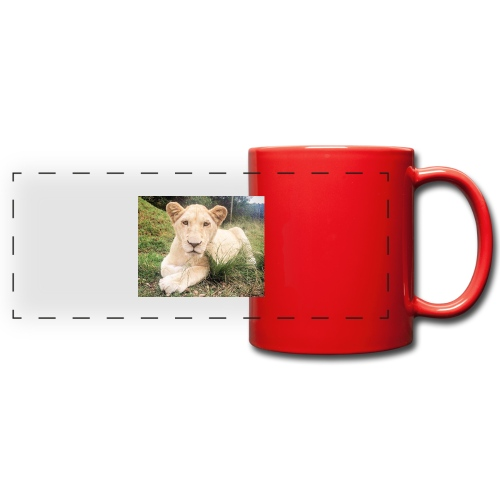 10536 2Cmoomba groot - Full Color Panoramic Mug