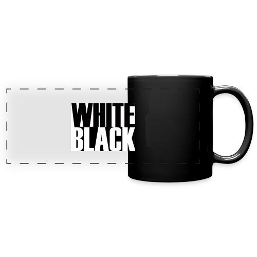 White, Black T-shirt - Panoramamok gekleurd