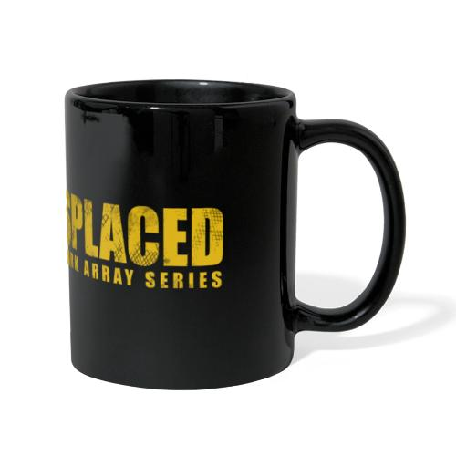 Displaced (Yellow) Branding - Full Colour Panoramic Mug