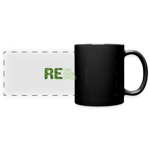 REuse REduce REcycle - Tazza colorata con vista