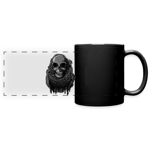 Skull in Chains - Full Color Panoramic Mug