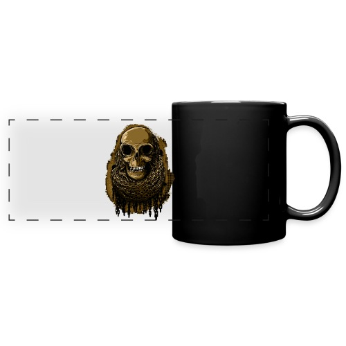 Skull in Chains YeOllo - Full Color Panoramic Mug