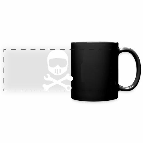 Helmet Bones N Tools - Full Color Panoramic Mug