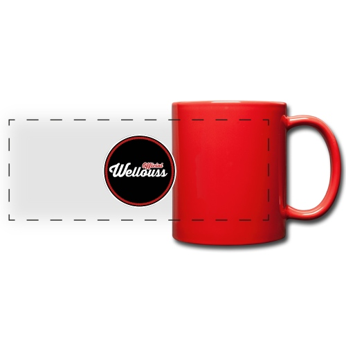 Wellouss Fan T-shirt | Rood - Panoramamok gekleurd