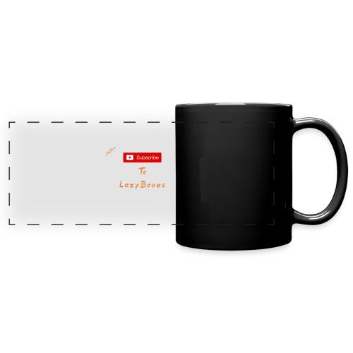 Subscribe To LazyBones - Färgad panoramamugg