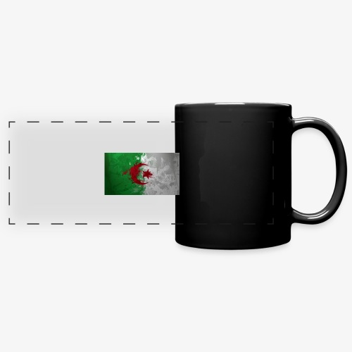 Drapeau Algérienne - Mug panoramique uni