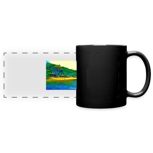 Tropical beach - Tazza colorata con vista