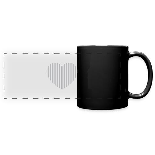 heart_striped.png - Full Colour Panoramic Mug