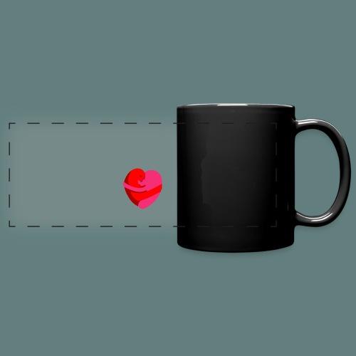 hearts hug - Tazza colorata con vista
