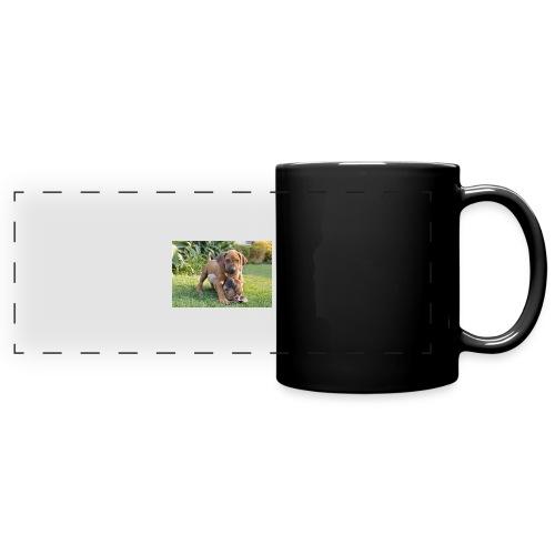 adorable puppies - Full Colour Panoramic Mug