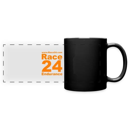 Race24 Logo in Orange - Full Colour Panoramic Mug