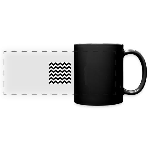 zigzag png - Mug panoramique uni