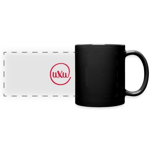 UXU logo round - Full Colour Panoramic Mug