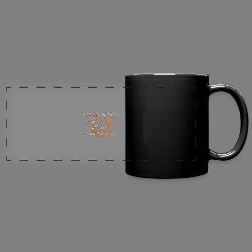 Kaffee - Panoramatasse farbig