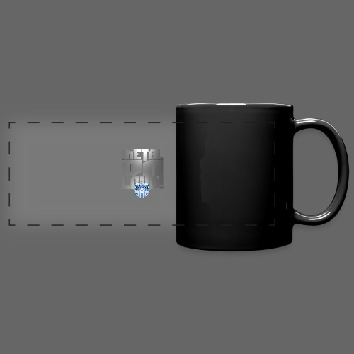 metalonloud large 4k png - Full Color Panoramic Mug
