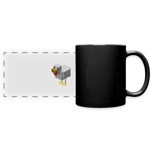 514px Chicken - Tazza colorata con vista