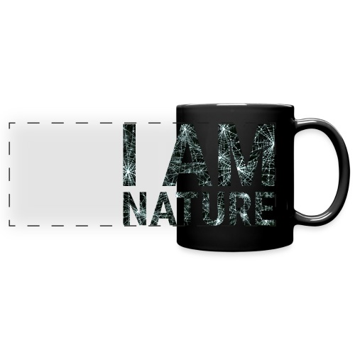 I am Nature - Panoramatasse farbig