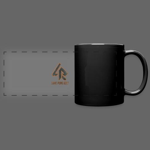 Lame Puns Rule: Logo - Full Color Panoramic Mug
