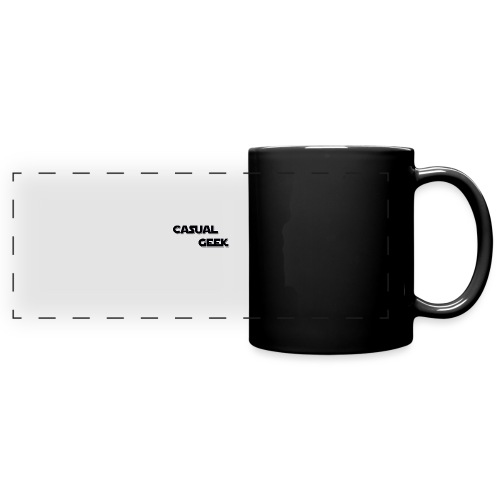 CasualGeek Standard Logo - Full Color Panoramic Mug