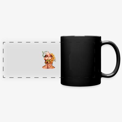 Fruit & Flowers - Full Colour Panoramic Mug