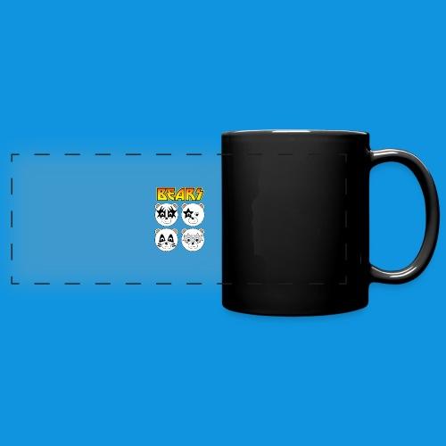 Kiss Bears square.png - Full Color Panoramic Mug