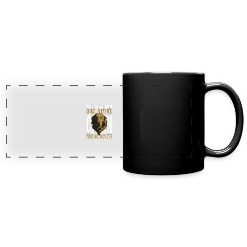 Un amour de chien - Mug panoramique uni