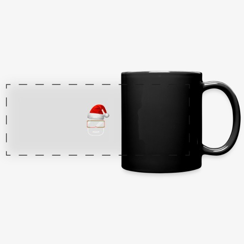 Die Zock Stube - Robot-Head Christmas - Panoramatasse farbig