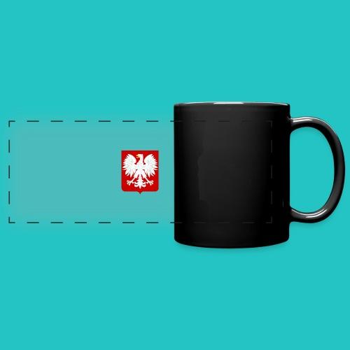 Koszulka z godłem Polski - Kolorowy kubek panoramiczny