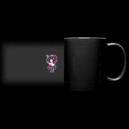 Geisha2 - Tazza colorata con vista