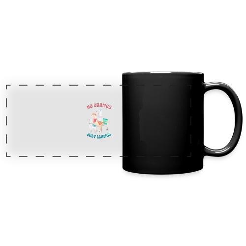 No Dramas Just Llamas - Full Color Panoramic Mug