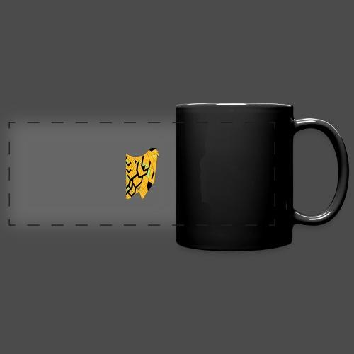 Owl Colour Redraw - Full Color Panoramic Mug