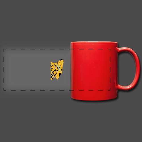 Owl Colour Redraw - Full Color Panoramic Mug