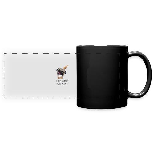 Pug Gang For Life. - Full Color Panoramic Mug