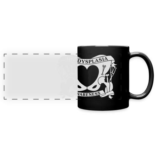Hip Dysplasia Awareness - Full Colour Panoramic Mug