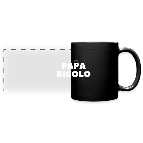 LE SEUL PAPA RIGOLO - Mug panoramique uni