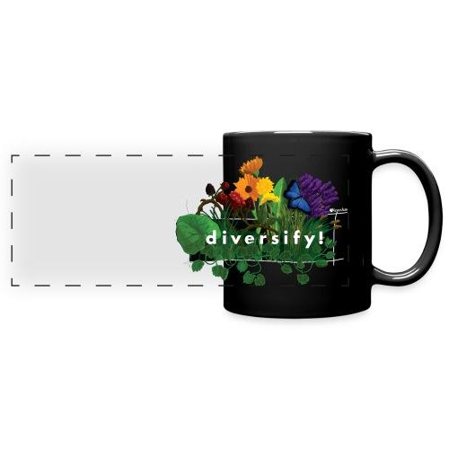 diversify! - Panoramatasse farbig