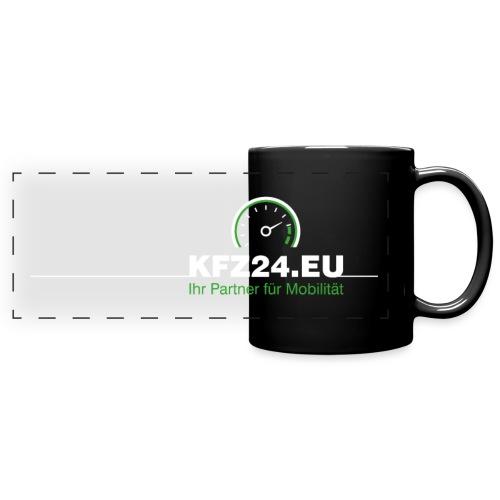 KFZ24-Logo_T-Shirt-schwar - Panoramatasse farbig