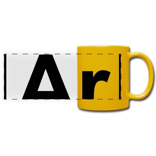 Argon (Ar) (element 18) - Full Color Panoramic Mug