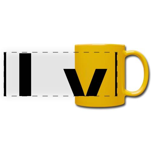 Livermorium (Lv) (element 116) - Full Colour Panoramic Mug