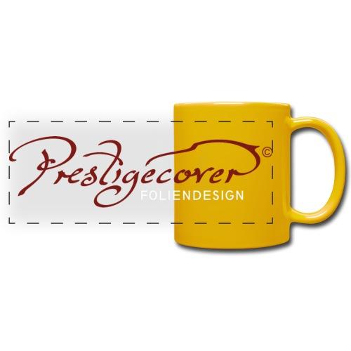 prestigecover_logo_weiß - Panoramatasse farbig