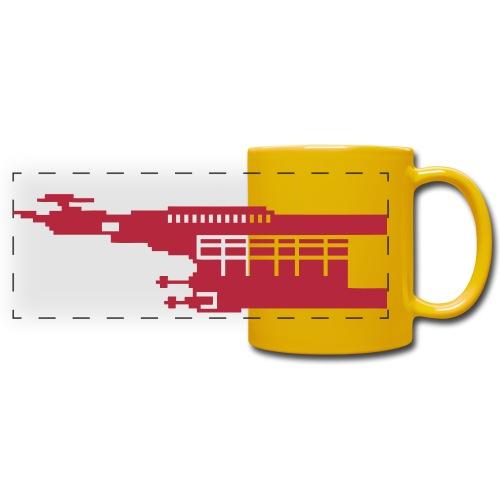 Hunter Pixel - Full Color Panoramic Mug