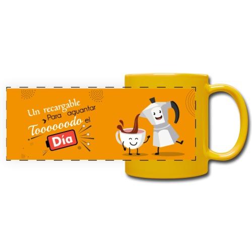 tazas de cafe - Taza panorámica de colores