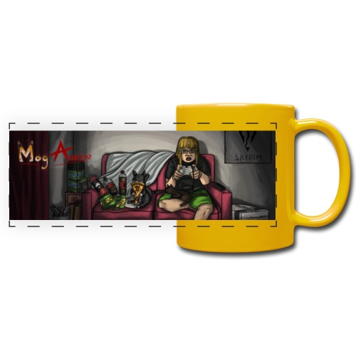 Mog Anarchy Banner - Full Color Panoramic Mug