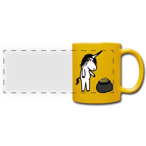 Oro unicorno - Tazza colorata con vista