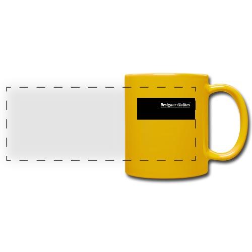 Designer Clothes logo - C - Full Color Panoramic Mug