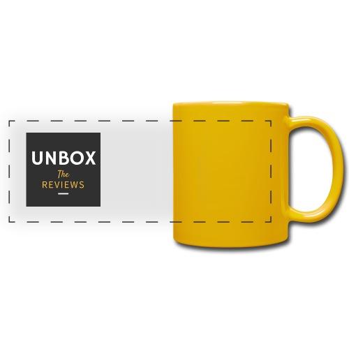 NEW Unbox The Reviews Log - Full Color Panoramic Mug